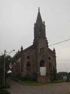 Igreja São Pedro Apóstolo, Ivoti, RS, Brasil. 31/03/2016