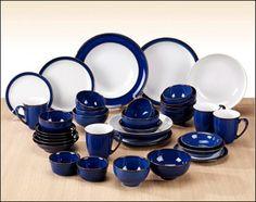 DENBY Dinnerware ~ Imperial Blue