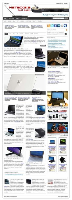 Netbooks ready made website for sale!   Technology related high earning niche! Comprehensive website design with very elegant and detailed graphics, plenty of content, dozens of pictures, videos reviews (8 categories!), contact/privacy pages, and more! READY TO RUN with ANY affiliate programs such as AdSense, Amazon, ClickBank, Chitika, AdBrite, Kontera, Infolinks... all of them! Built-in and preconfigured auto-updating Amazon Store, start selling without keeping any inventory!