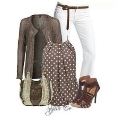 Casual Smart Midseason Jeans White