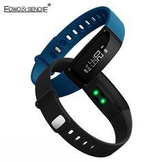 EDWO V07 Smart Band Watch Bluetooth 4.0 Blood Pressure Wristband Heart Rate Smartband Fitness Activity Tracker Health Bracelet