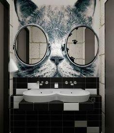 20 Framed Bathroom Mirror Ideas for Double Vanity & Single Sink with light - bathroom Double framed Ideas Light. 20 Framed Bathroom Mirror Ideas for Double Vanity & Single Sink with light - Decorative Bathroom Mirrors, Diy Bathroom, Bathroom Interior, Small Bathroom, Bathroom Black, Light Bathroom, Bath Mirrors, Mirror Vanity, Bathroom Ideas
