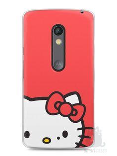 Capa Capinha Moto X Play Hello Kitty - SmartCases - Acessórios para celulares e tablets :)