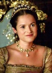 The Tudors Lady Rochford, Jane Parker played by Joanne King