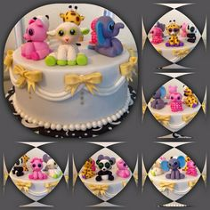 Beanie boos cake toppers