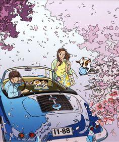 わたせせいぞう新作カレンダー&ポルシェ356新作版画( ´_ゝ`)ノ|空と☆水と☆みずいろポルシェと♪ |ブログ|むねたけ|みんカラ…