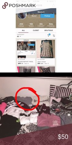 Scammer! @rierie1018 🚫 She scammed a girl and denied that she done it but posted her collection and the girls campus tee was in the photo! Such a liar. She changed her name to try and throw people over. Please block and report this piece of trash. 🚫 PINK Victoria's Secret Other