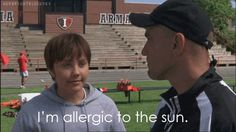allergic to the sun