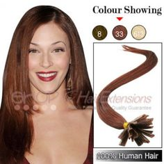 22 Inches Indian Nail Tip Remy Human Hair Extensions ( Rich Copper Red) Indian Nails, Cheap Hair Extensions, Copper Red, Indian Hairstyles, 100 Human Hair, Nail Tips, Color Show