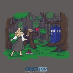 Once Upon a Dream by Karen Hallion Shirt on sale until 02 March on http://othertees.com #doctorwho