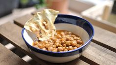 Curry de garbanzos chana massala  en Crockpot