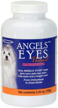 Angels Eyes Tear Stain Remover Natural Sweet Potato Flavor, 150gm