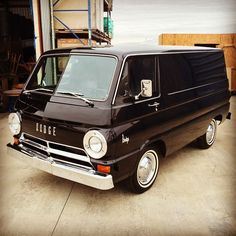 1967 Dodge van. All original. Sold for $2,100 when new. #Dodge #Van (at Trouble Maker Studios)