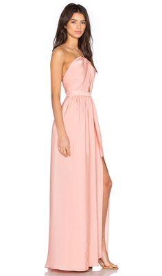 THE JETSET DIARIES Lotus Maxi Dress in Blush | REVOLVE