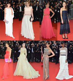 Cannes Do Chic Red Carpet Elegance + Grace Worth An Inspirational Look