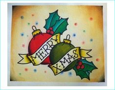 25 Inspiring Christmas Tattoos Designs