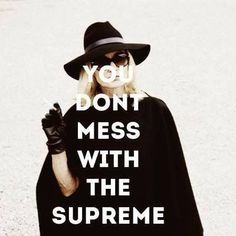 #supreme don't forget