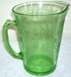 Florentine Depression Glass
