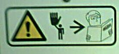 """""""Warning: Readers will be smacked with a novelty hand."""""""