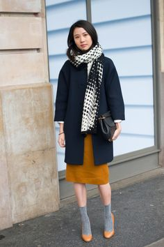 How to Wear Socks with Heels—the Street Style Way | StyleCaster Fashion Images, Fashion Tips, Work Fashion, Street Fashion, Fall Fashion, Fashion Trends, We Wear, How To Wear, Socks And Heels