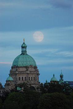 British Columbia Parliament Building: Victoria, Canada -