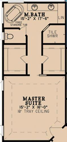 Master Bedroom Layout Center The Tub 37 Popular Ideas The Barndominium Floor Plans Cost Master Bedroom Layout Master Suite Floor Plan Master Bedroom Plans