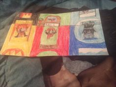Fire boy, Patrick, and ice boy's bedroom by Kaylee Alexis