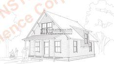 Каркасный дом своими руками: инструкция, важные моменты Homemade Sauna, Diy And Crafts, Projects To Try, Floor Plans, Rooftops, Walls, Cottage House Designs, Modern, House