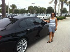Please help us congratulate Teresa A. on her brand new BMW 535i from Fields BMW…