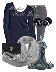 """Hades Fall Day"" by amarie104 ❤ liked on Polyvore featuring Topshop, Old Navy, Jigsaw and Rut&Circle"