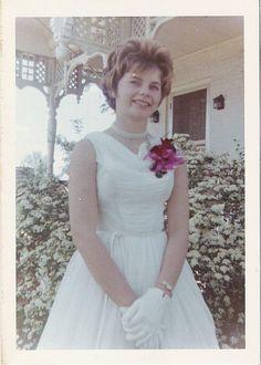 #vintage #prom #1960s