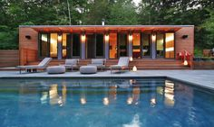 Connecticut Pool House « Resolution: 4 Architecture