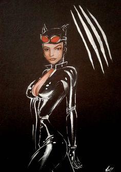 Catwoman (hand drawn)