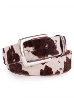 http://www.trachten24.eu/Guertel-echt-Kuhfell-exklusiv-weiss-braun - Gürtel echt Kuhfell exklusiv (weiss/braun) - Belt genuine cow fur exclusive (white/brown)