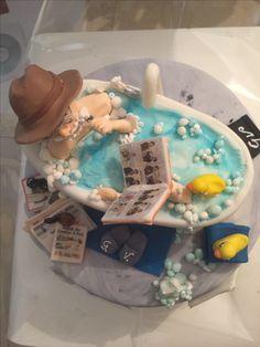 Compleanno in vasca da bagno