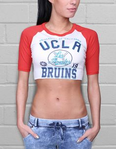 Chaney Cropped Tee by UCLA | UCLA Clothing