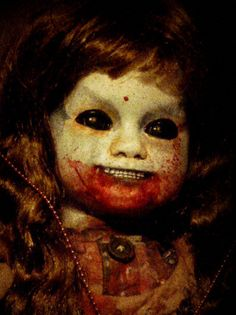 freaky or what , even for halloween creepy doll...