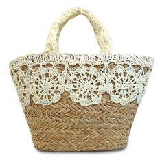Image gallery – Page 469289223667254782 – Artofit Fabric Handbags, Crochet Handbags, Lace Bag, Diy Tote Bag, Jute Bags, Craft Bags, Basket Bag, Large Shoulder Bags, Summer Bags
