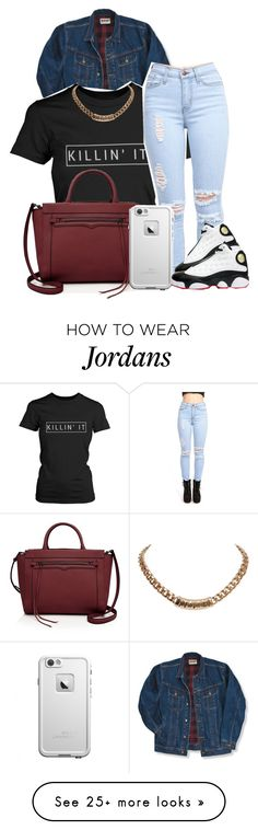 """."" by dekaylaxoxo on Polyvore featuring Wrangler, Rebecca Minkoff, Givenchy and NIKE"