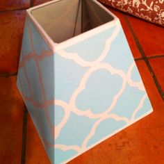 Painted lampshade I did myself