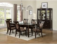 Dining Set, Table+4+2 Arm ChairsDining room sets