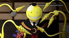 Assassination Classroom : Koro Sensei just makes some of snack for Karma.