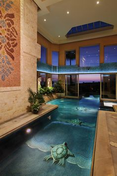 Indoor House Pools indoor swimming pool | pool  love to swim | pinterest | small