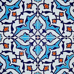 persian tile pattern