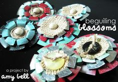 Beguiling blossoms (a metal flower tutorial) | Use Sheet Metal