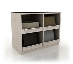Futura range. Accessories and complementary items for product and tile board display units for stands, stores and showrooms