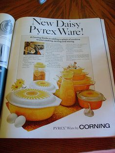 1968 ad for Daisy Pyrex Ware