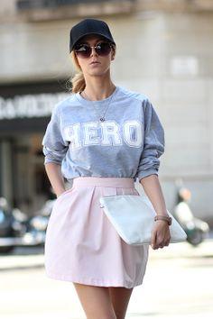 Sporty Pastels / sweatshirt - Choies http://www.choies.com/product/gray-crop-sweatshirt-in-hero-print