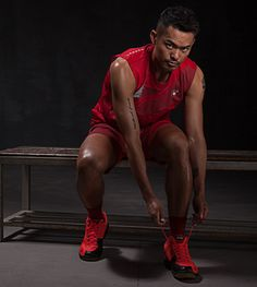 Lin Dan - Two-time Olympic champion, five-time world champion, and six-time All England champion in badminton