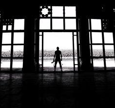 صوره داخل  قصر (صدام حسين) في مدينة بابل الاثريه